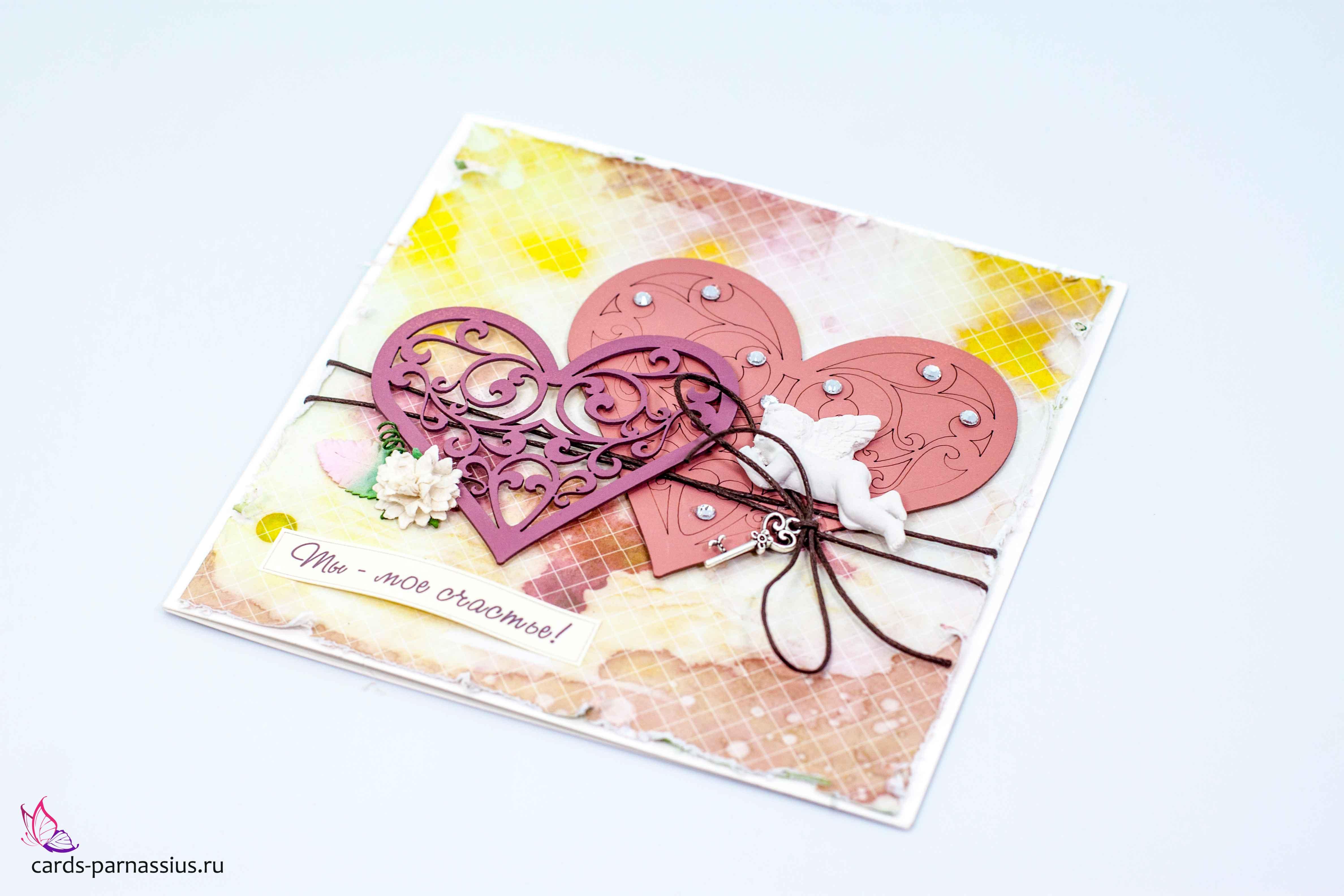 Почтовые открытки ручной работы 20